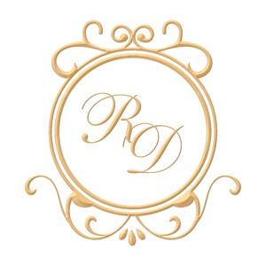 Brasão para convite de casamento modelo 43 - Art Invitte Convites