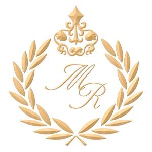 Brasão para convite de casamento modelo 44 - Art Invitte Convites