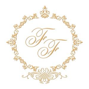 Brasão para convite de casamento modelo 45 - Art Invitte Convites