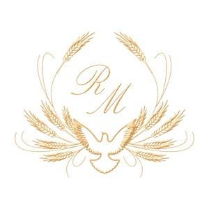 Brasão para convite de casamento modelo 47 - Art Invitte Convites