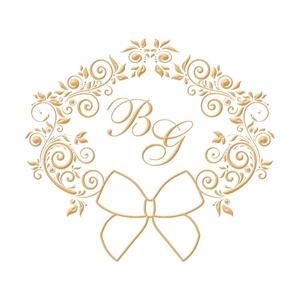 Brasão para convite de casamento modelo 50 - Art Invitte Convites