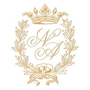 Brasão para convite de casamento modelo 52 - Art Invitte Convites