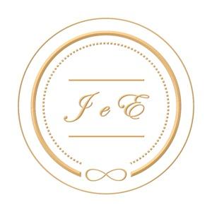 Brasão para convite de casamento modelo 54 - Art Invitte Convites
