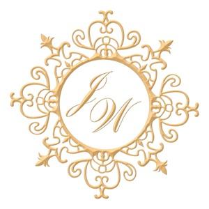Brasão para convite de casamento modelo 55 - Art Invitte Convites