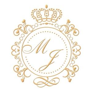 Brasão para convite de casamento modelo 62 - Art Invitte Convites
