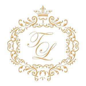 Brasão para convite de casamento modelo 64 - Art Invitte Convites