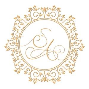 Brasão para convite de casamento modelo 67 - Art Invitte Convites