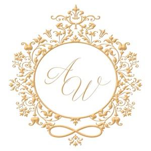 Brasão para convite de casamento modelo 74 - Art Invitte Convites