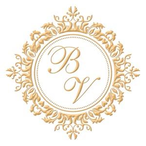 Brasão para convite de casamento modelo 82 - Art Invitte Convites