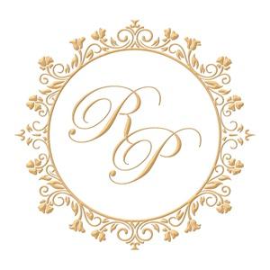 Brasão para convite de casamento modelo 84 - Art Invitte Convites