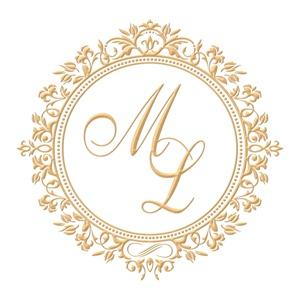 Brasão para convite de casamento modelo 85 - Art Invitte Convites
