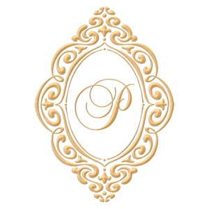 Brasão para convite de casamento modelo 86 - Art Invitte Convites