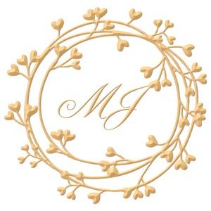 Brasão para convite de casamento modelo 94 - Art Invitte Convites