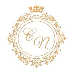 Brasão para convite de casamento modelo 96 - Art Invitte Convites