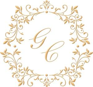 Brasão para convite de casamento modelo 98 - Art Invitte Convites