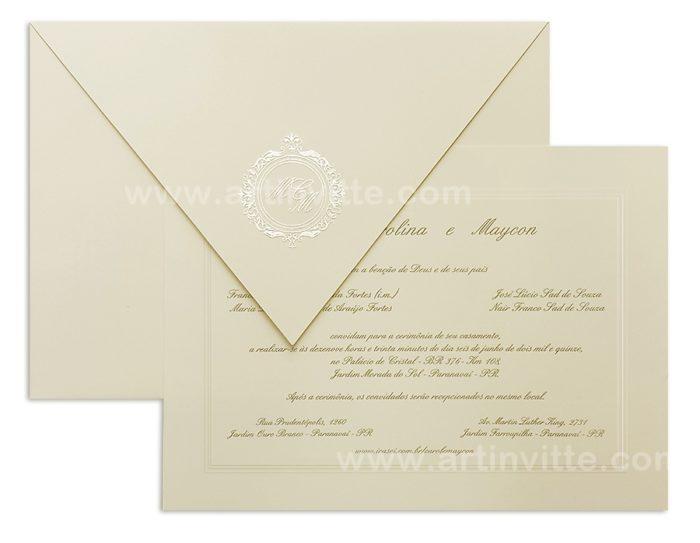 Convite de casamento Amsterdã AM 006