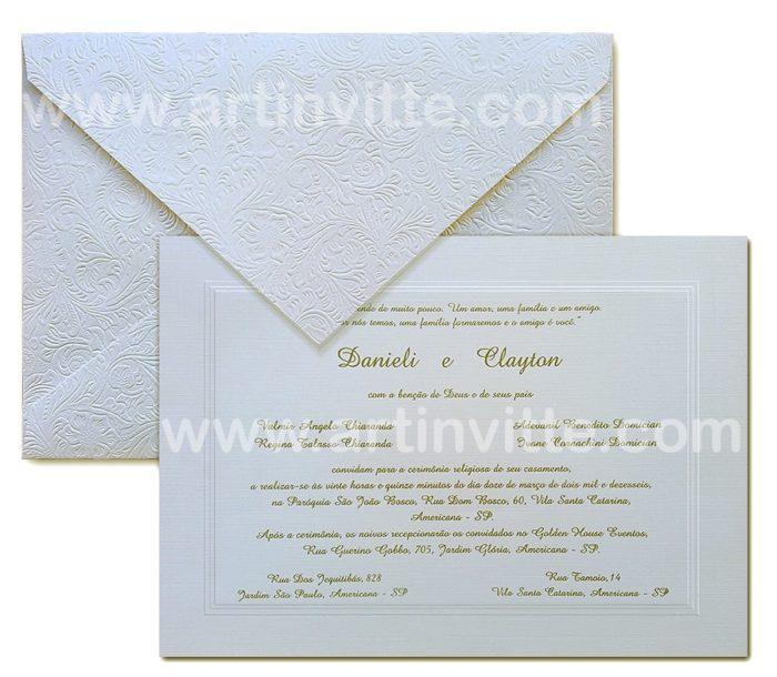 Convite de casamento Amsterdã AM 012