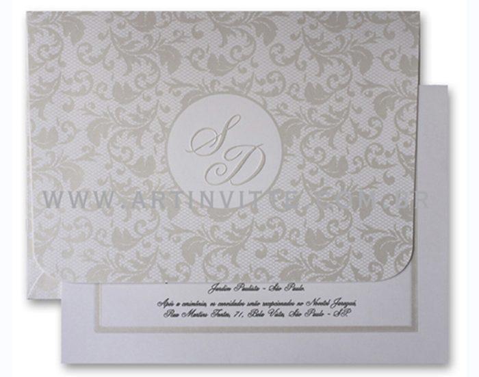 Convite de casamento Capri CP 013