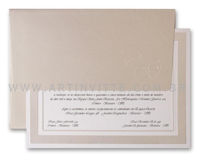 Convite de casamento Cozumel CZ 009