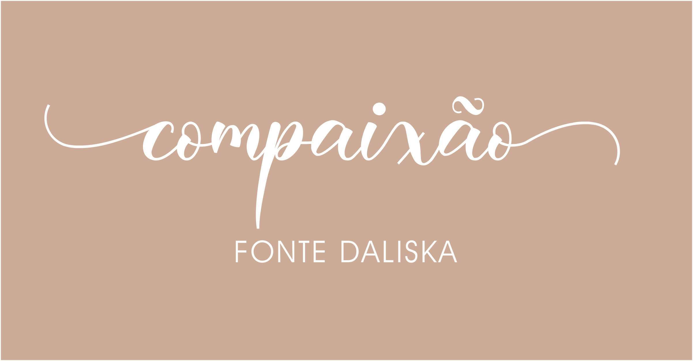 Letras com rabinhos para convites de casamento Daliska