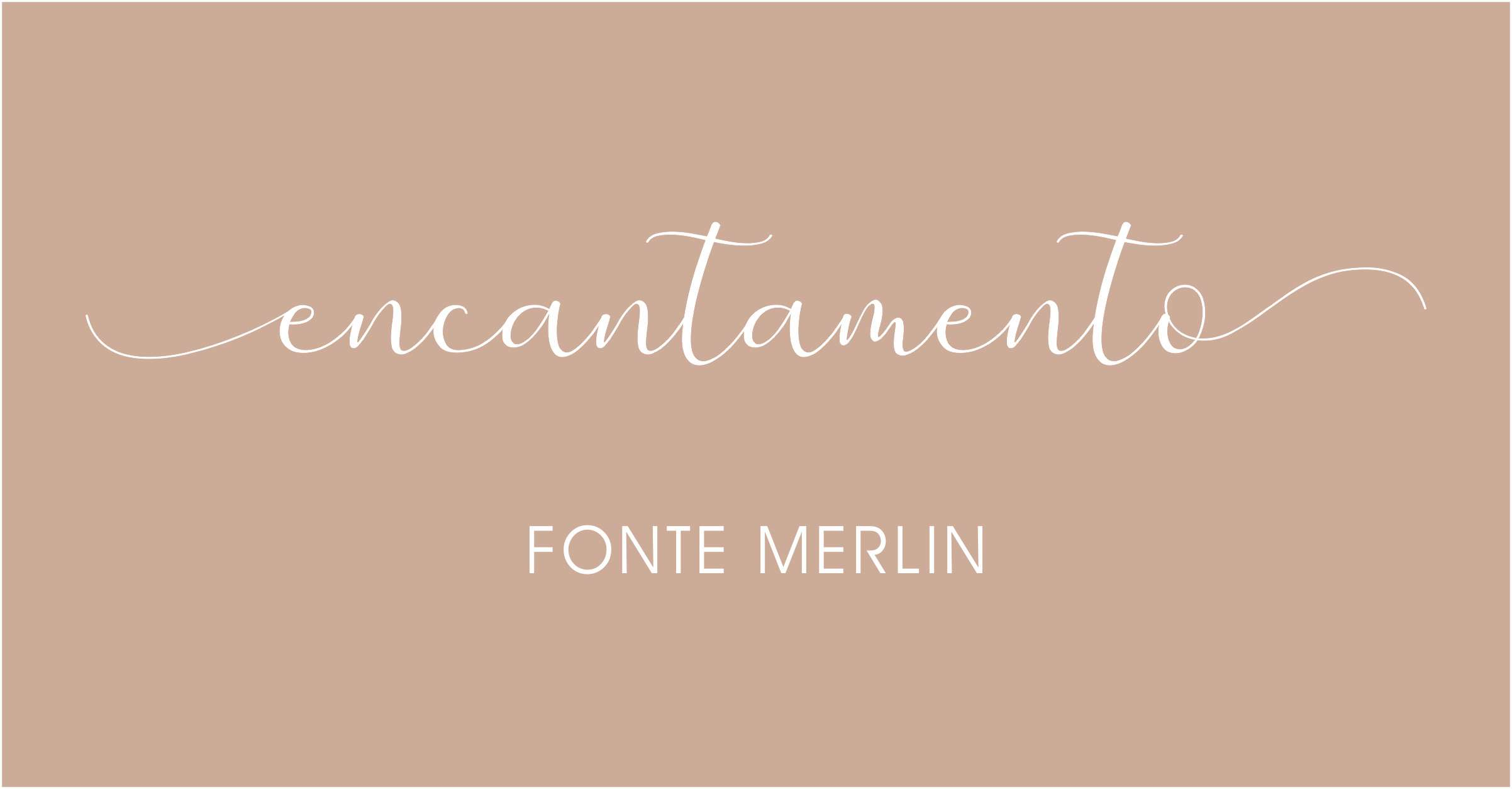 Letras com rabinhos para convites de casamento Merlin